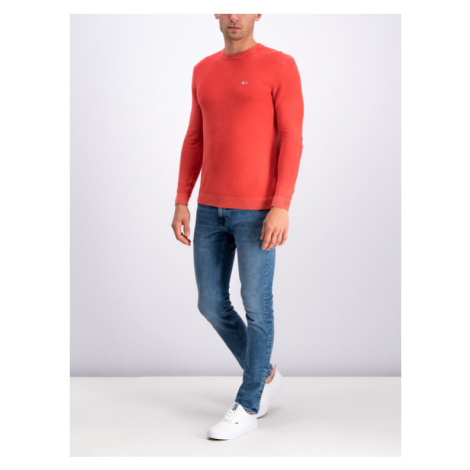 Tommy Jeans Sweter DM0DM06534 Czerwony Regular Fit Tommy Hilfiger
