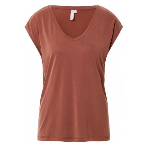 PIECES Koszulka rdzawobrązowy
