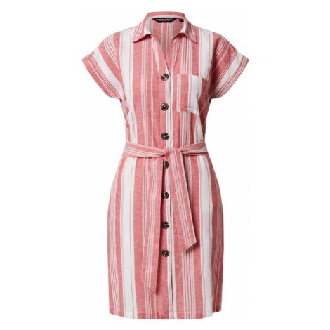 Dorothy Perkins Sukienka koszulowa 'Red Stripe' czerwony