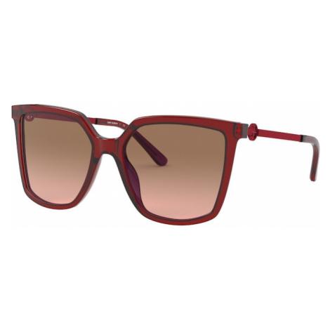 Tory Burch Okulary przeciwsłoneczne ciemnoczerwony