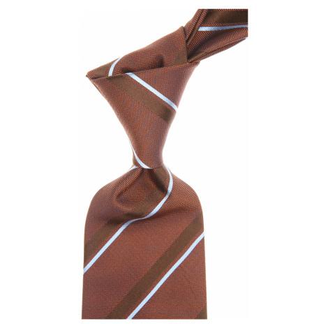 Brązowe męskie krawaty
