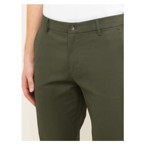 Calvin Klein Jeans Spodnie materiałowe Chino J30J314242 Zielony Slim Fit