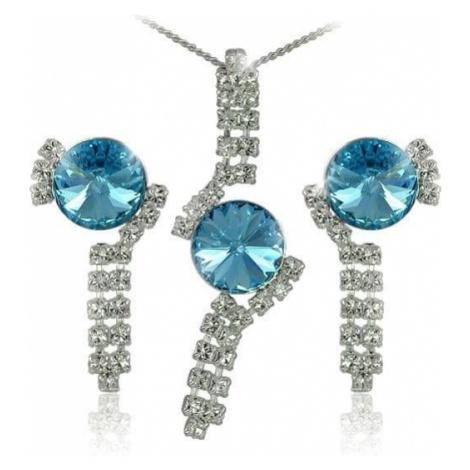 MHM Ustaw Aquamarine biżuteria Rivoli 34139 srebro 925/1000