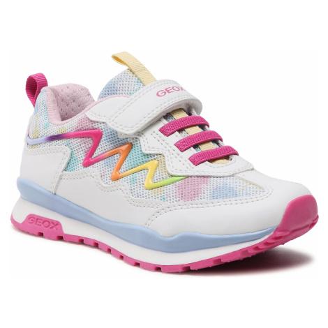 Sneakersy GEOX - J Pavel G. A J158CA 0GFBC C0653 S White/Multicolor