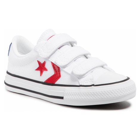 Trampki CONVERSE - Star Player 3v Ox 670227C White/University Red/Blue