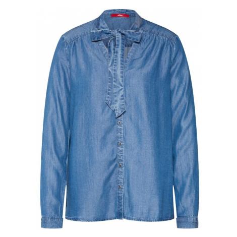 S.Oliver RED LABEL Bluzka niebieski denim