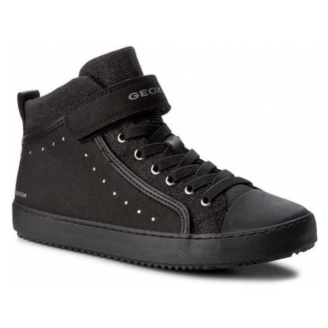 Sneakersy GEOX - J Kalispera G.I J744GI 0AFEW C9999 D Black