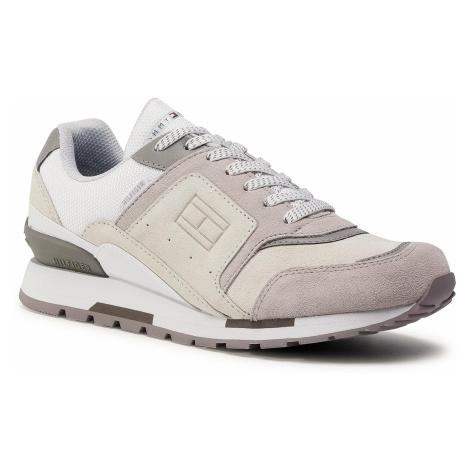 Sneakersy TOMMY HILFIGER - Dorian 1C FM0FM03079 White YBR