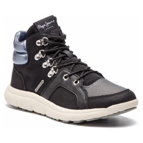Sneakersy PEPE JEANS - Hyke W Camu PLS30761 Black 999