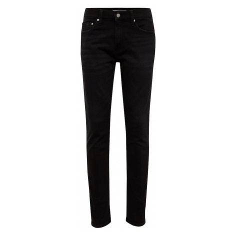Calvin Klein Jeans Jeansy 'CKJ 026 SLIM' czarny denim