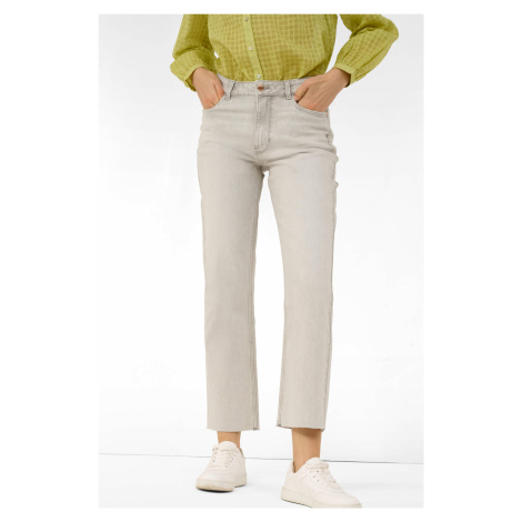 Jeansy mom fit high waist Orsay