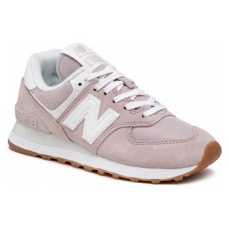 Sneakersy NEW BALANCE - WL574PA2 Różowy