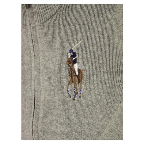 Polo Ralph Lauren Sweter 321787062 Szary Regular Fit