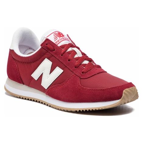 Sneakersy NEW BALANCE - WL220CRA Bordowy