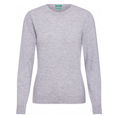 UNITED COLORS OF BENETTON Sweter szary