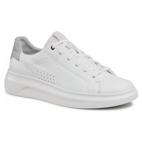 Sneakersy GEOX - U Maestrale B U15ATB 085PZ C1236 White/Lt Grey