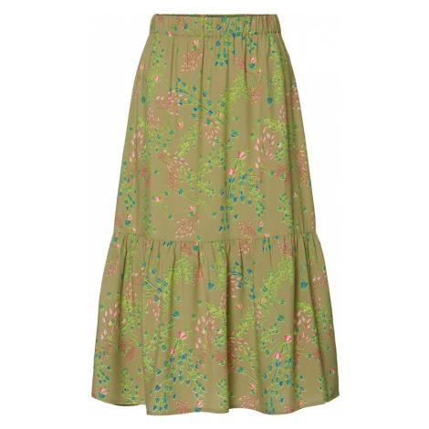 Marc O'Polo DENIM Spódnica oliwkowy / mieszane kolory