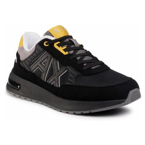 Sneakersy ARMANI EXCHANGE - XUX052 XV205 R625 Black/Grey