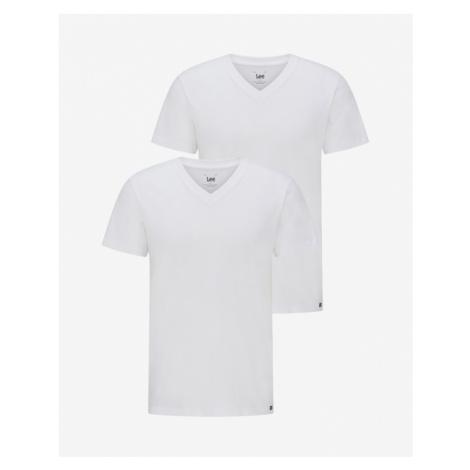 Lee 2-pack Koszulka Biały