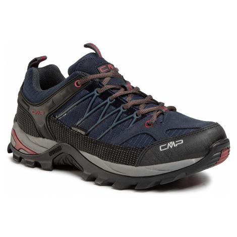 Trekkingi CMP - Rigel Low Trekking Shoes Wp 3Q54457 Asphalt Syrah 62BN
