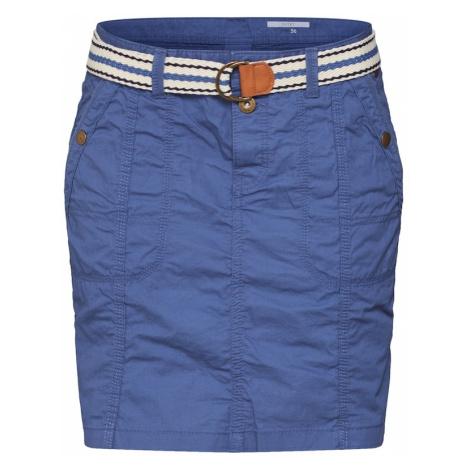 EDC BY ESPRIT Spódnica niebieski
