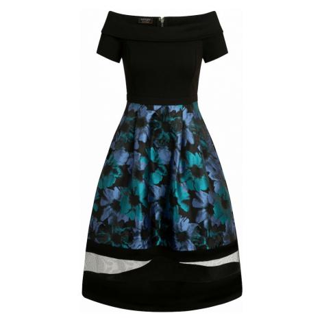 APART Sukienka czarny / błękitny