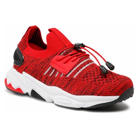 Sneakersy BARTEK - 18539005 Czerwony