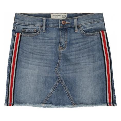 Abercrombie & Fitch Spódnica 'M2' niebieski denim
