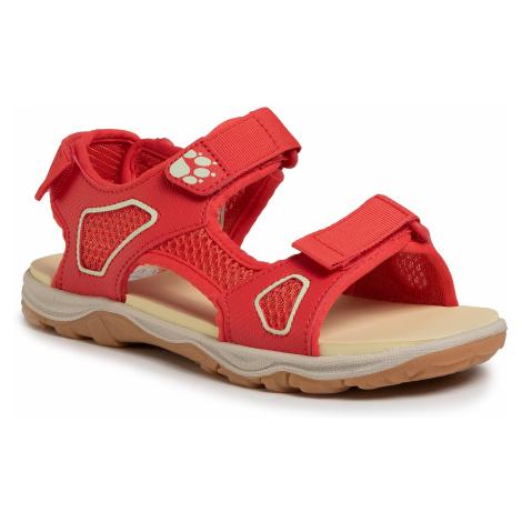 Sandały JACK WOLFSKIN - Taraco Beach Sandal K 4039531 D Red/Champagne