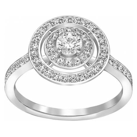 Swarovski Pierścień błyszczące ATTRACT ŚWIATŁO 5184216_5184214 (obwód 50 mm)