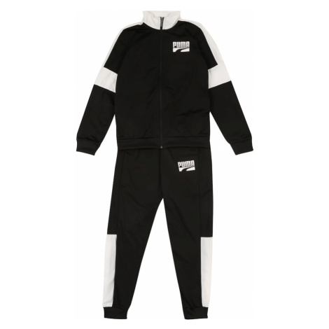 PUMA Strój sportowy 'Rebel Suit cl B' czarny / biały