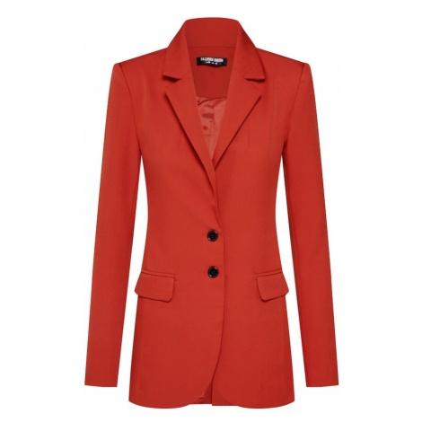 Fashion Union Marynkarka 'MISON BLAZER' pomarańczowo-czerwony