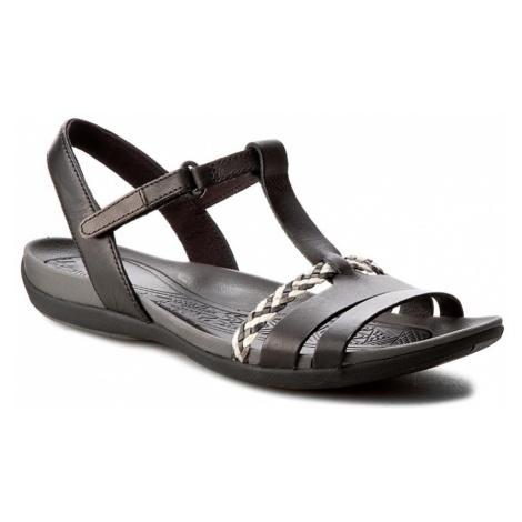 Sandały CLARKS - Tealite Grace 261245834 Black Leather