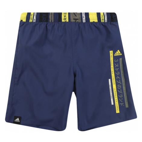 ADIDAS PERFORMANCE Sportowa moda plażowa 'YA CB SHORTS' niebieski