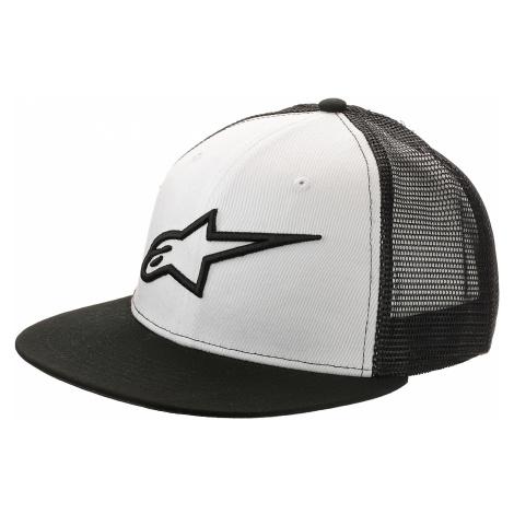 czapka z daszkiem Alpinestars Corp Trucker - Black/White