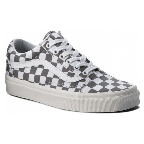 Tenisówki VANS - Old Skool VN0A38G1U53 (Checkerboard) Pewter/Marshmallow