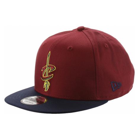 czapka z daszkiem New Era 9FI Contrast Team NBA Cleveland Cavalier - Official Team Colour