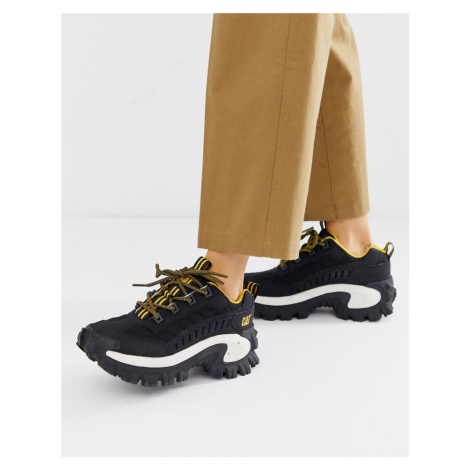 CAT Intruder chunky trainers in black