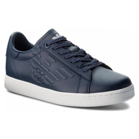 Sneakersy EA7 EMPORIO ARMANI - X8X001 XCC01 00285 Navy