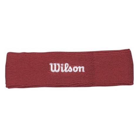 Wilson HEADBAND RD OSFA - Opaska tenisowa