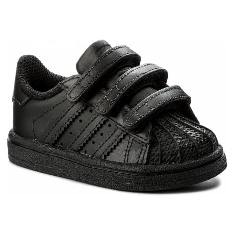 Buty adidas - Superstar Cf I BZ0417 Cblack/Cblack/Cblack