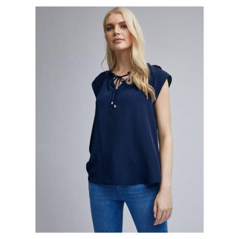 Granatowa bluzka Dorothy Perkins