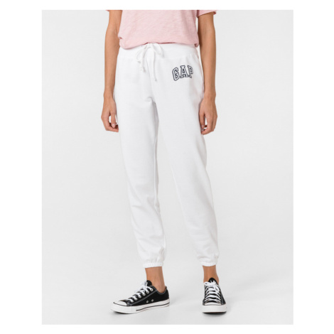 GAP Spodnie dresowe Biały