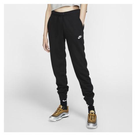 Damskie spodnie z dzianiny Nike Sportswear Essential - Czerń