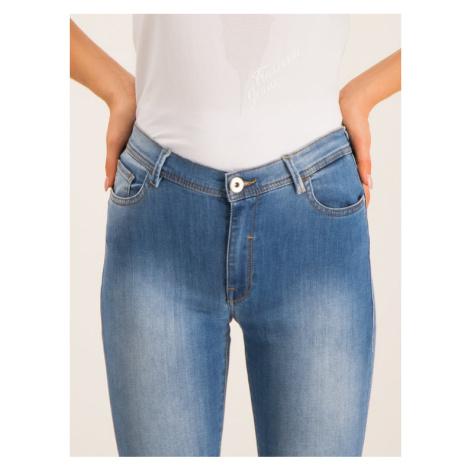 Trussardi Jeans Jeansy Skinny Fit Kate Royal 56J00005 Granatowy Slim Fit