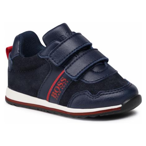 Sneakersy BOSS - J09148 M Navy 849 Hugo Boss