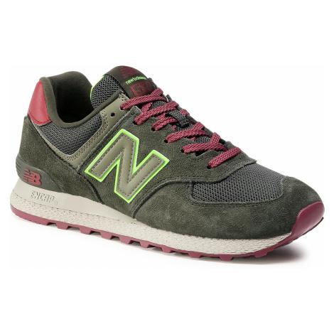 Sneakersy NEW BALANCE - MT574ATC Zielony