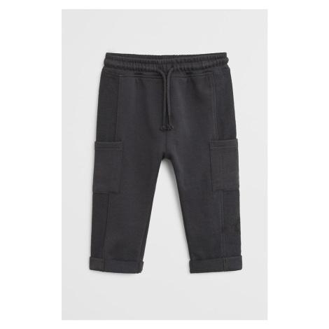 Mango Kids - Spodnie dziecięce James 80-104 cm