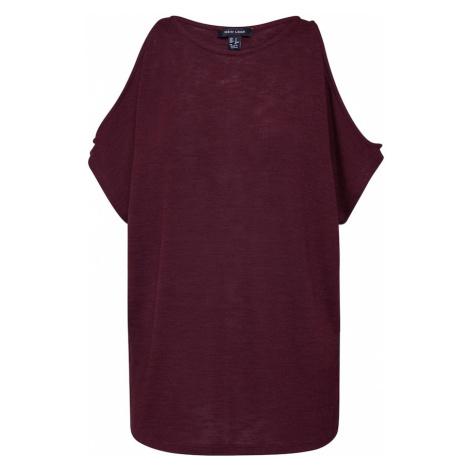 NEW LOOK Koszulka 'CS COLD SHOULDER TOP' burgund