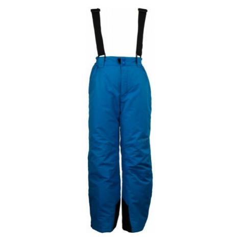 ALPINE PRO FUDO 2 niebieski 140-146 - Spodnie narciarskie dziecięce